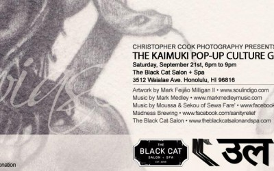Kaimuki Pop-Up Art Gallery, September 21st 2013