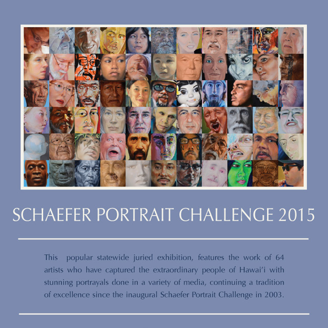 Acceptance into the 2015 Schaefer Portrait Challenge