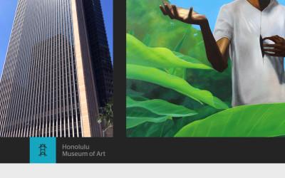 Schaefer Portrait Challenge 2015 exhibit at the First Hawaiian Center