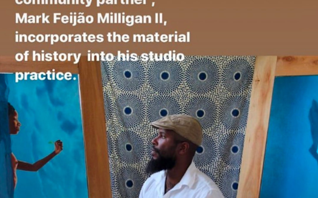 "Featured in Honolulu Museum of Art's ""Artist in Studio"" series"